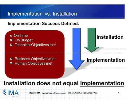 Installation_vs._Implementation