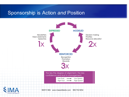 Healthcare Transformation Sponsorship Responsibilities