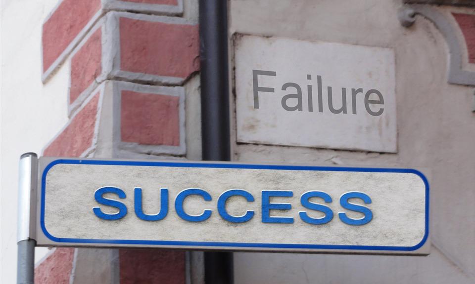 Change Management Success Sign